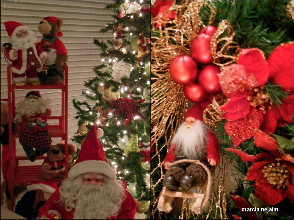 decoracao de arvore de natal tradicional