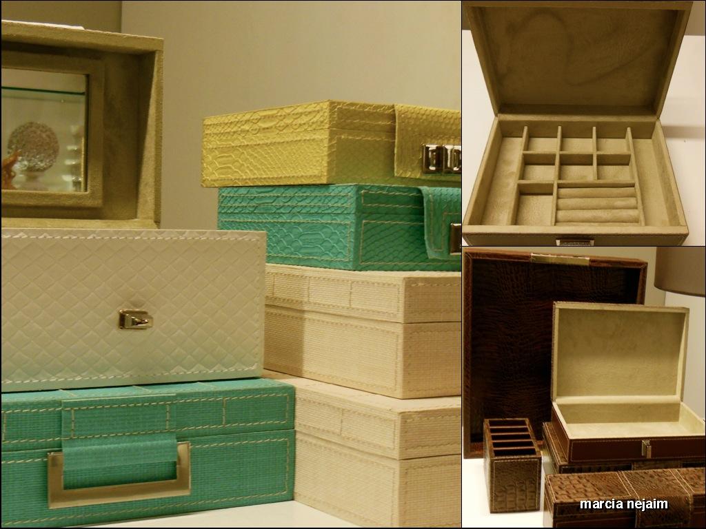 caixas diversas