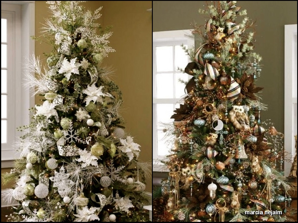 decoracao arvore de natal vermelha e dourada:Decoracao De Natal Verde E Dourado