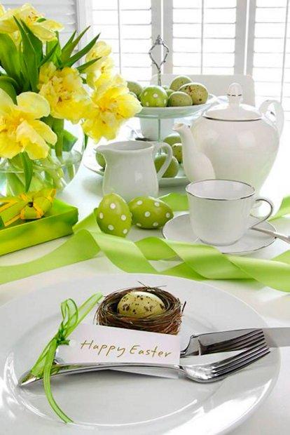 z11443191Q,Ozdoby-Wielkanocnego-stolu-