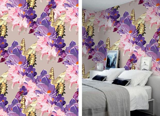 Butterflies-Purple-Wallpaper