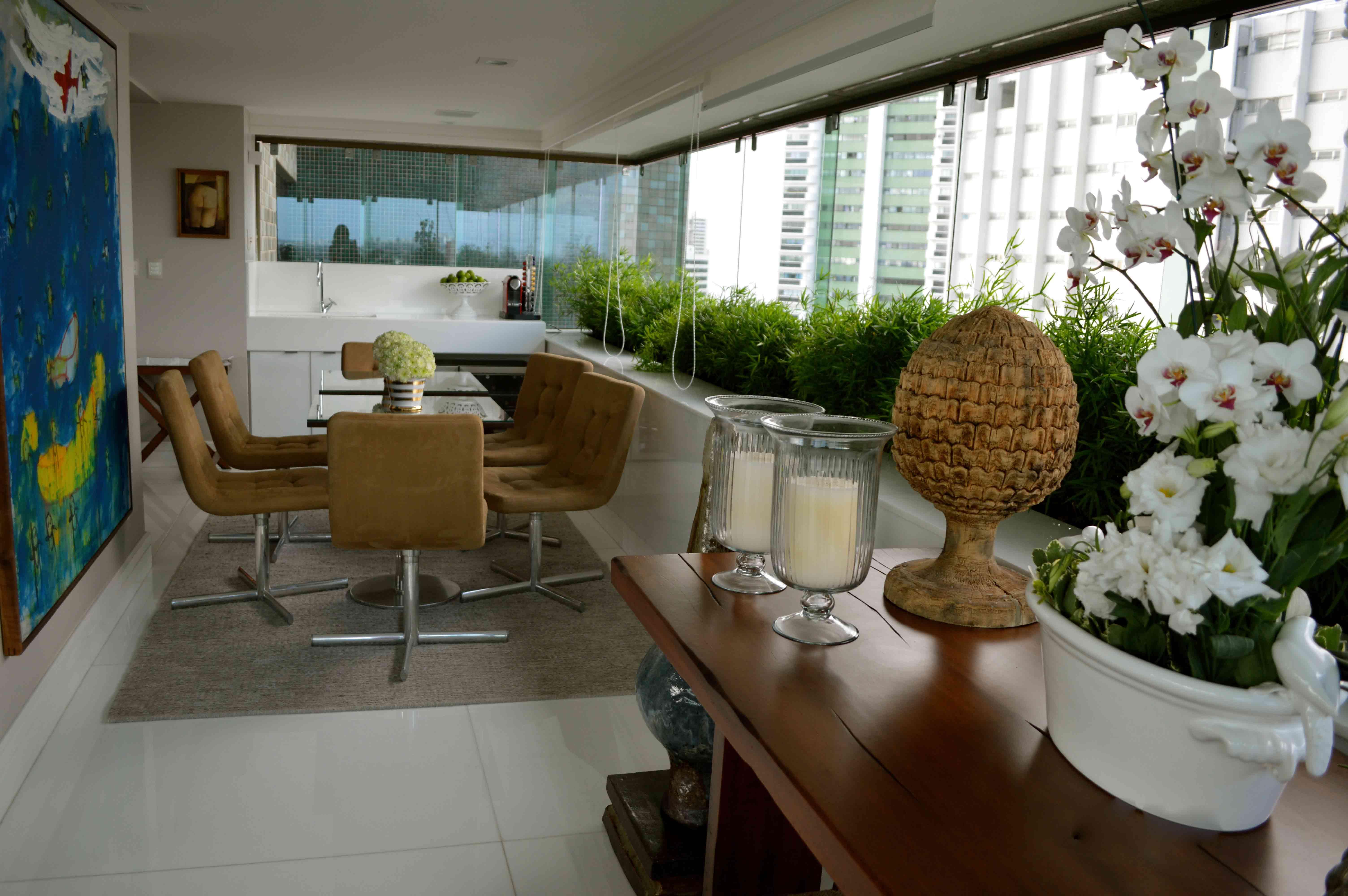 gourmet para completar este espaço perfeito para receber os amigos #5F492B 6016x4000