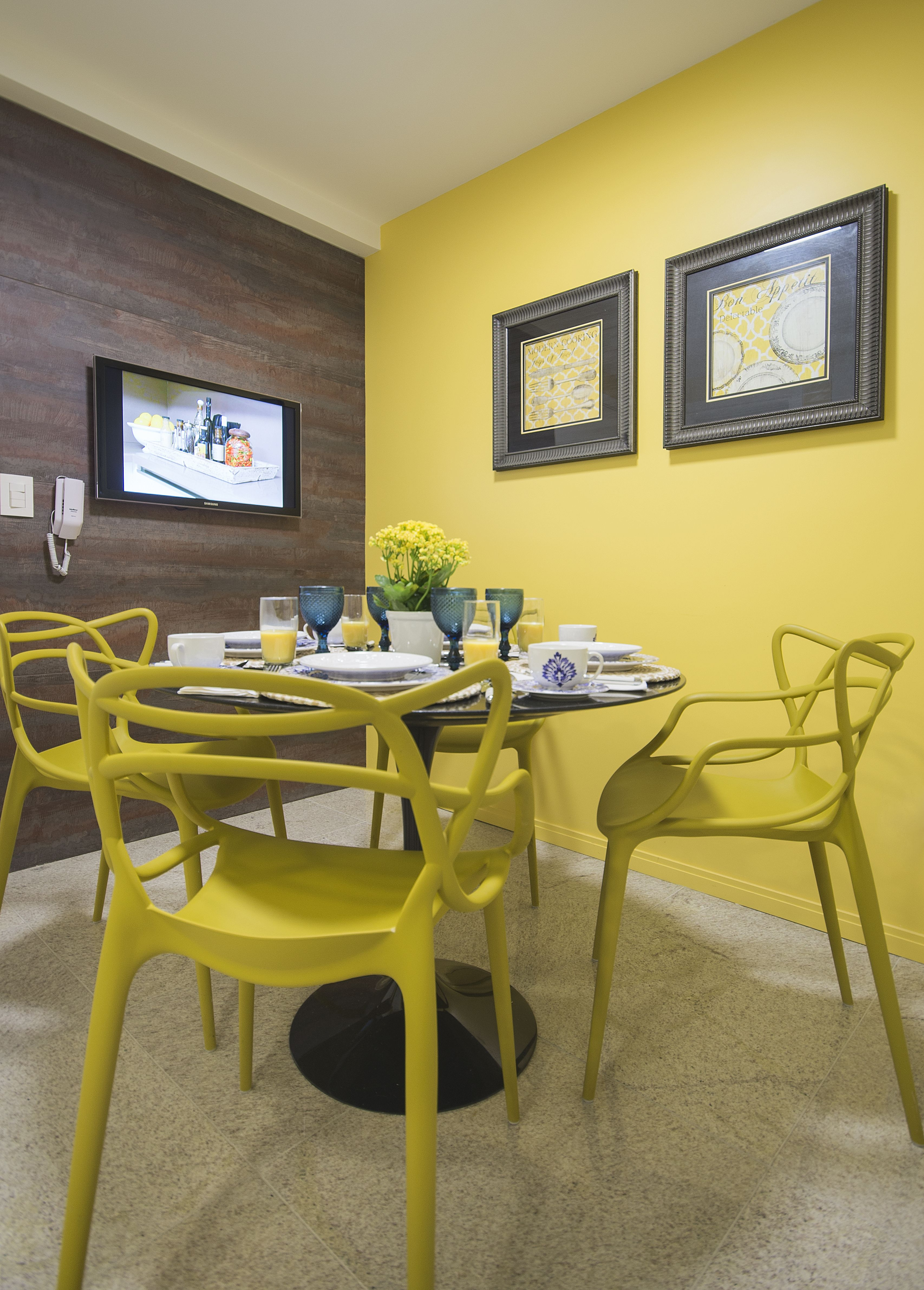Um toque de amarelo na sua cozinha marcia nejaim #9F8A2C 3413 4764